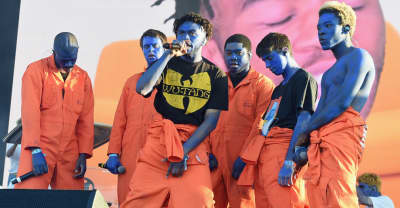 Jaden Smith joins Brockhampton on stage during L.A. performance