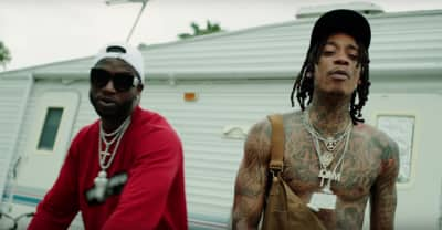 "Wiz Khalifa and Gucci Mane share ""Real Rich"" music video"