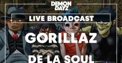 Stream Gorillaz' Demon Daze Festival