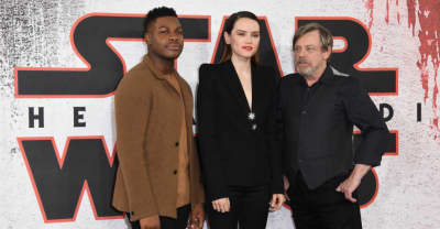 The cast of Star Wars are mocking a sexist fan who edited the film to remove women