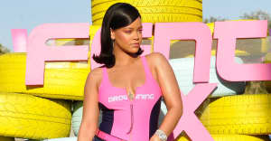 Rihanna secretly wore a flask bracelet to Coachella