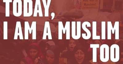 #IAmMuslimToo Rally Takes Over Time Square