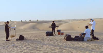 Watch A Drone-Shot Video Of Nosaj Thing Jamming In The Desert Of Dubai