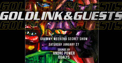 GoldLink and crew are throwing a secret pre-Grammys party