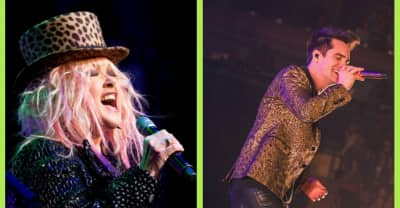 """Watch Cyndi Lauper join Panic! at the Disco on stage for """"Girls Just Want to Have Fun"""""""