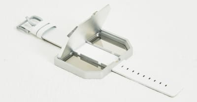 You can store your drugs in this Raf Simons bracelet