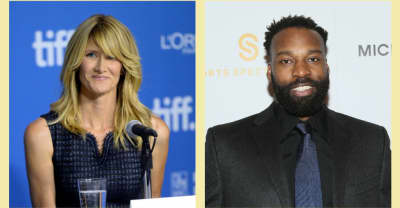 The internet is already extremely invested in Laura Dern and Baron Davis