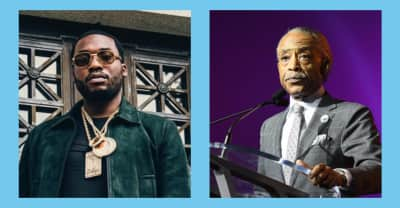 """Al Sharpton after visiting Meek Mill in prison: """"He's a symbol of the abuse of this system"""""""