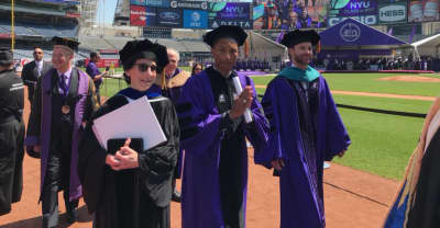 Watch Pharrell's Commencement Speech At NYU