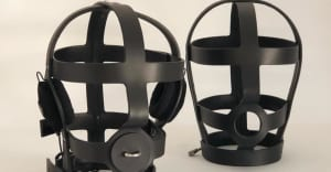 These Arca co-signed headphones are a BDSM cage