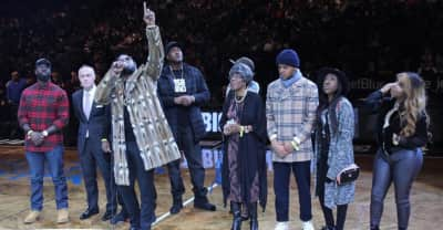 Diddy And The Brooklyn Nets Honor Notorious B.I.G.