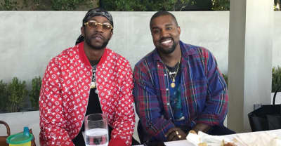 2 Chainz Says Kanye West Is Making Beats Again