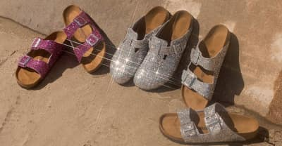 The Birkenstock x Opening Ceremony collaboration will blind you with sparkles