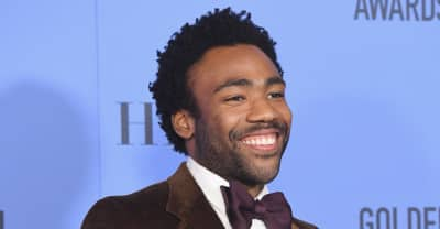 Donald Glover Accepts Second Golden Globe Award For Best Actor In A TV Comedy For Atlanta
