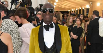 Legendary Harlem tailor Dapper Dan was at the Met Gala