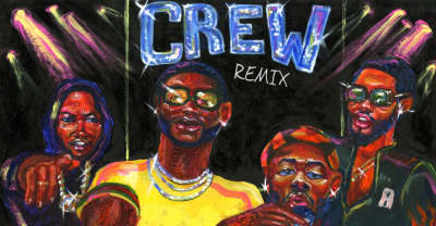 "GoldLink Shares ""Crew"" Remix With Gucci Mane"