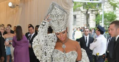 Rihanna showed up to the Met Gala as the Pope