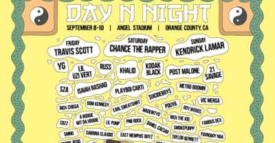 Travis Scott, Chance The Rapper, And Kendrick Lamar To Headline Day N Night Fest