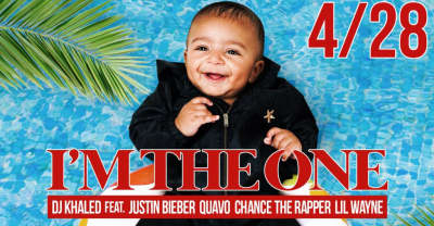 "DJ Khaled Announces ""I'm The One"" Single With Lil Wayne, Justin Bieber, Quavo, And Chance The Rapper"