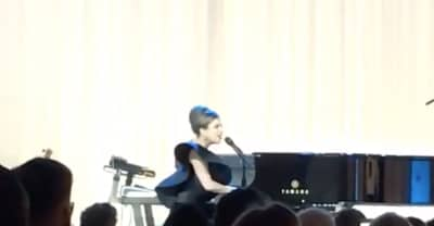 "Watch Stevie Wonder and Lady Gaga Sing ""Happy Birthday"" To Elton John"