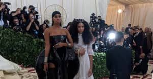 Solange brought Brother Vellies founder Aurora James as her Met Gala date