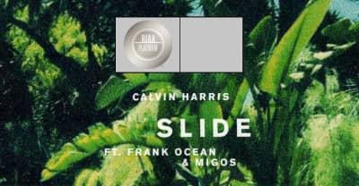 "Calvin Harris's ""Slide"" Has Gone Platinum"
