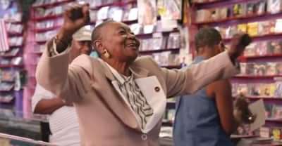 "Calypso Rose Pulls Machel Montano For Her ""Leave Me Alone"" Music Video"