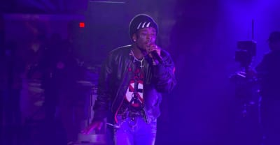 "Watch Lil Uzi Vert perform ""The Way Life Goes"" on The Late Show"
