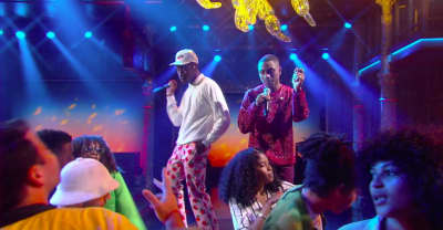 "Watch Tyler, The Creator Perform ""911"" On The Late Show"