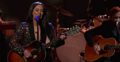 "Watch Kacey Musgraves play ""Slow Burn"" on The Late Show"