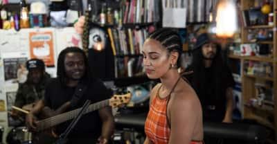 Watch Jorja Smith's Tiny Desk Concert for NPR
