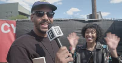Watch Zack Fox Backstage At FADER FORT