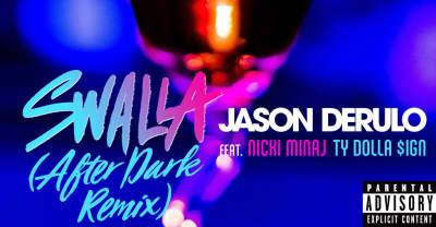 "Jason Derulo Reunites With Nicki Minaj And Ty Dolla $ign For After Dark Remix Of ""Swalla"""