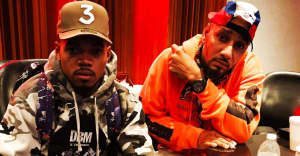 It looks like Swizz Beatz is making new music with Chance The Rapper
