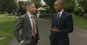 Watch President Obama And Macklemore Discuss Opioid Addiction In America