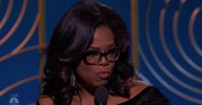 Watch Oprah's full acceptance speech at the 2018 Golden Globes