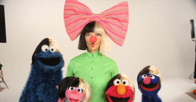 Watch Sia's Appearance On Sesame Street