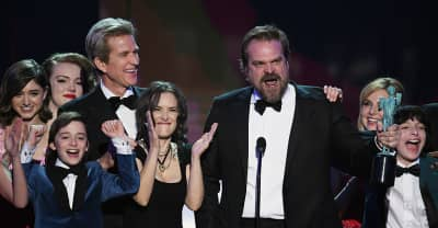 Watch Stranger Things Actor David Harbour's Rousing SAG Awards Speech