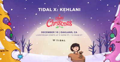 This year, everyone is invited to Kehlani's Christmas show