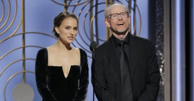 Natalie Portman called out the Golden Globes all-male director lineup