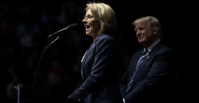 Betsy DeVos Got Loudly Booed And Protested At Her HBCU Keynote Speech