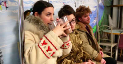 Watch Kino Kimino Gallivant Through The Winnipeg Snow
