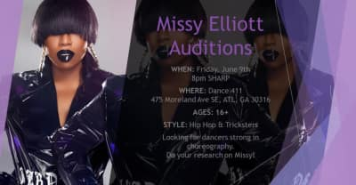 Missy Elliott Is Holding An Open Audition For Backing Dancers