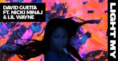 "David Guetta Recruits Nicki Minaj And Lil Wayne For ""Light My Body Up"""
