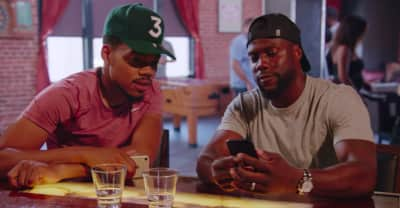 Watch Chance The Rapper and Kevin Hart do yoga