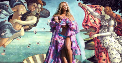 The Internet Is Already Comparing Beyoncé's New Baby Picture To Iconic Works Of Art
