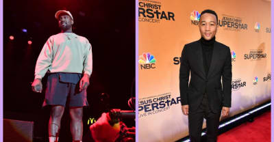 John Legend suggests Kanye West isn't done working in Wyoming yet