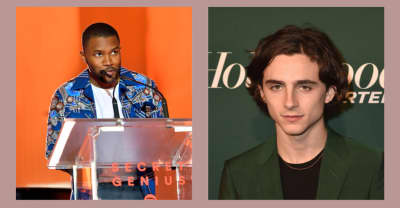 Frank Ocean interviewed Timothée Chalamet about Call Me By Your Name