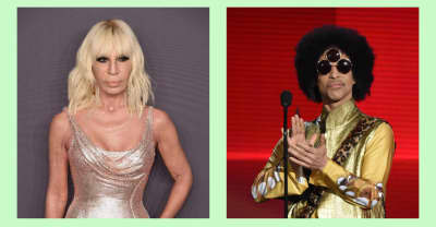 """Donatella Versace says Prince wanted to be """"the face of Black Lives Matter"""""""