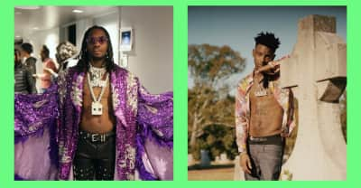 """Listen to Offset and 21 Savage's """"Hot Spot"""""""